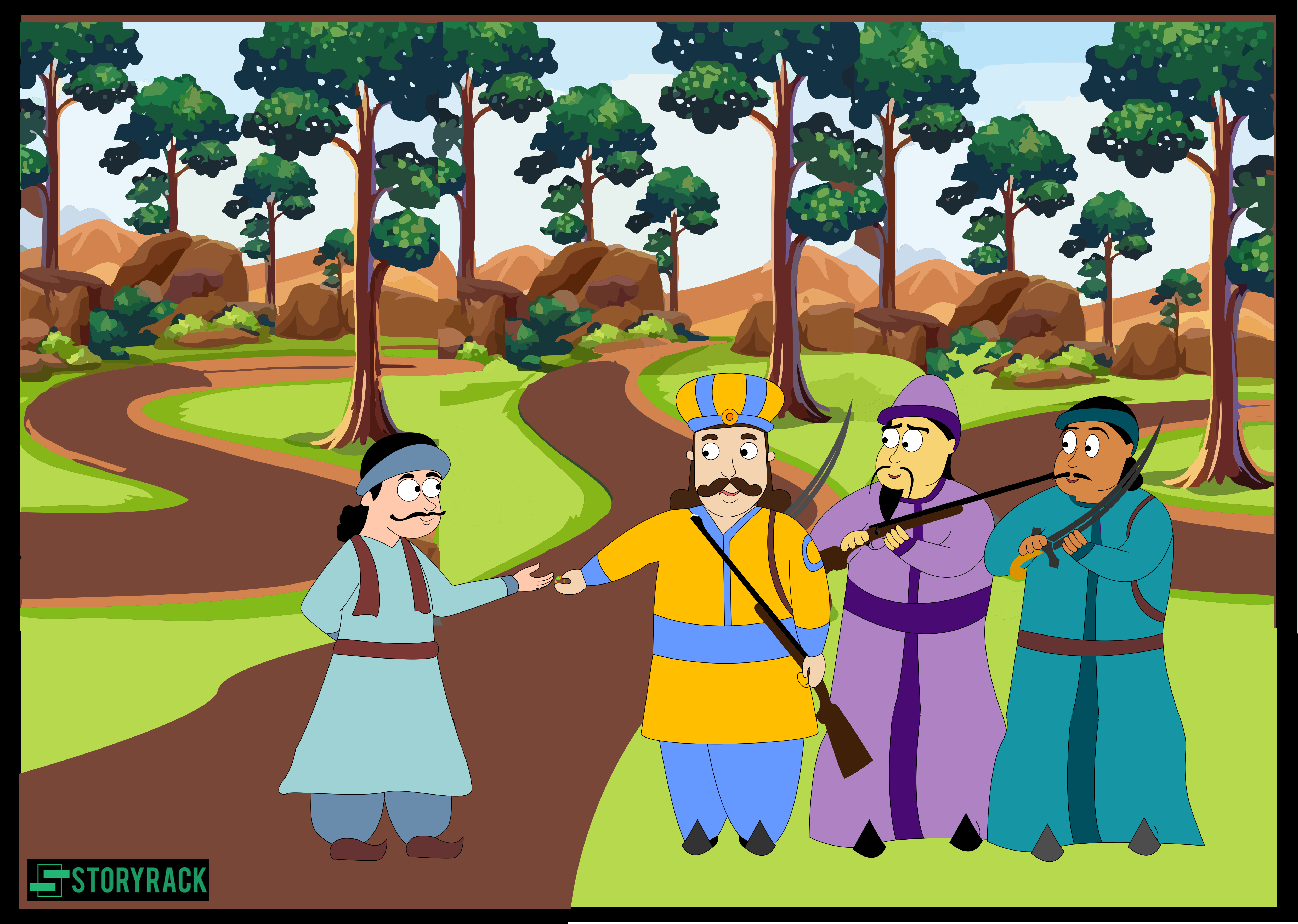 How Akbar and Birbal met