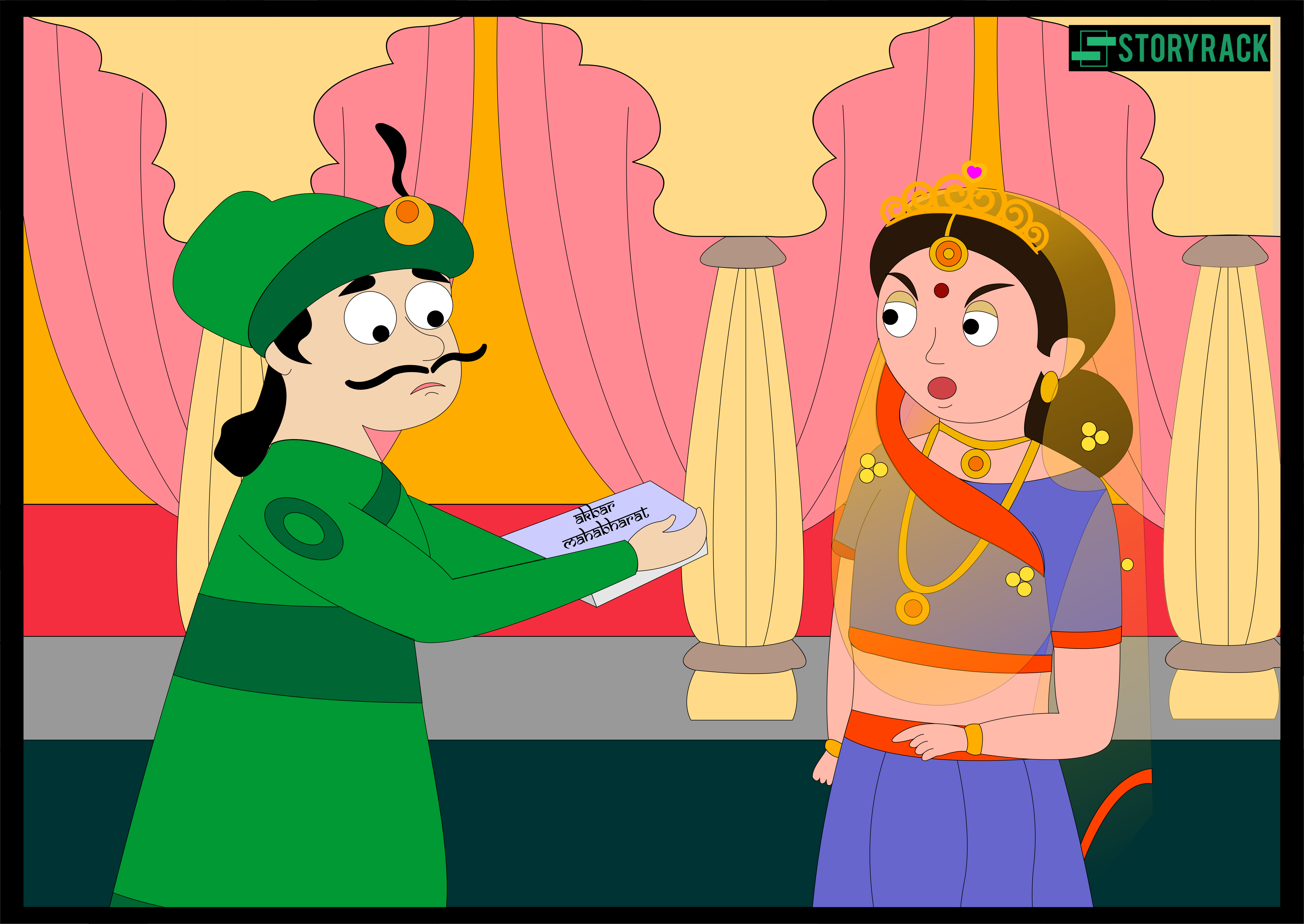 King Akbar's Mahabharata